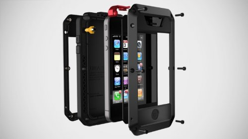 Case with Gorilla Glass for Iphone 5