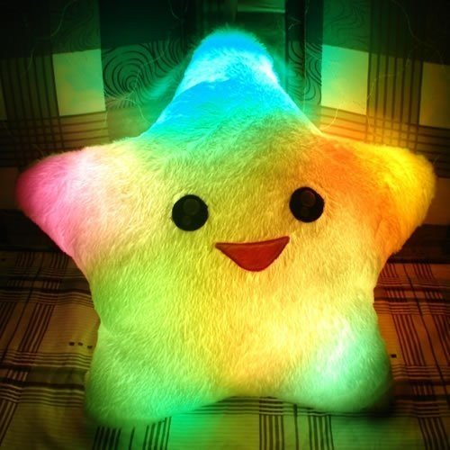 Lucky Star Glow Pillow