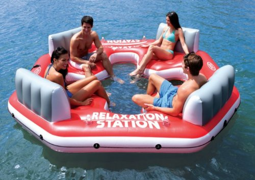 Relaxation Station Water Lounge 4-Person River Tube