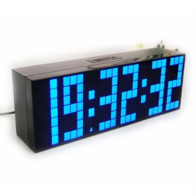 Digital Large Big Number Jumbo LED clock