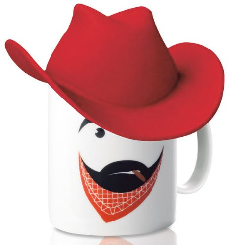 Mug with Silicone Cowboy Hat