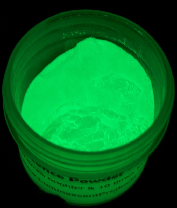 Amazon.com  Luminescence Green Glow In The Dark Pigment - MAIN