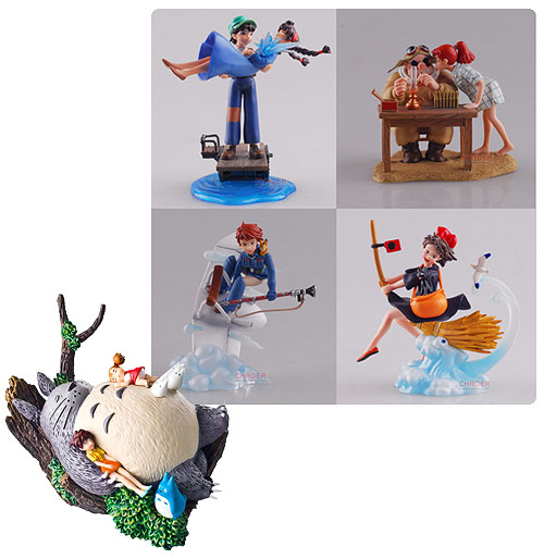 Studio Ghibli Diorama Collection Volume 1 Statue Set