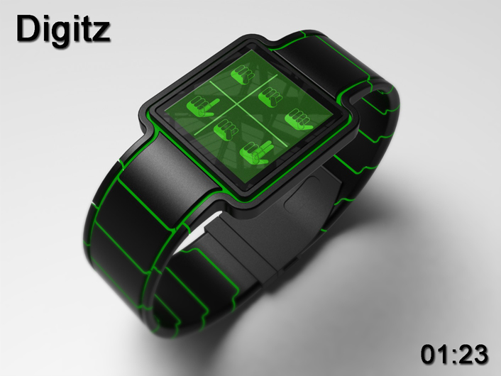 Digitz watch signals