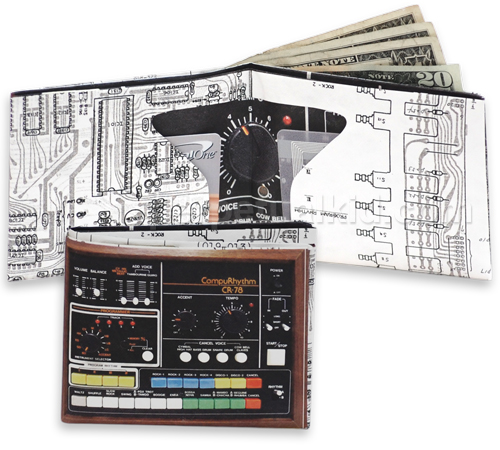 DRUM MACHINE SONIC MUSICAL WALLET
