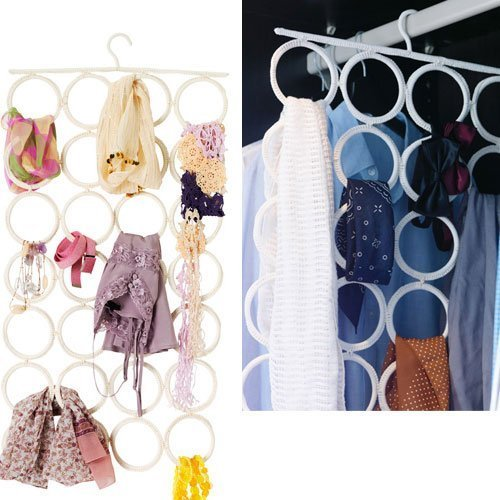 Multi-use Hanger 28 Slots Organize Clothes