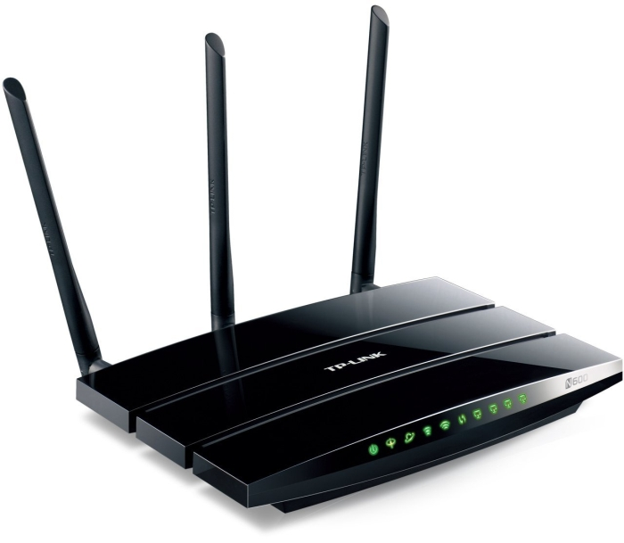 TP-Link N600 Dual Band Wireless GB ADSL2+ Modem Router with 4 GB LAN Ports