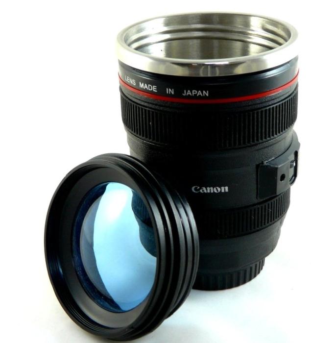 Drinking Camera Mug