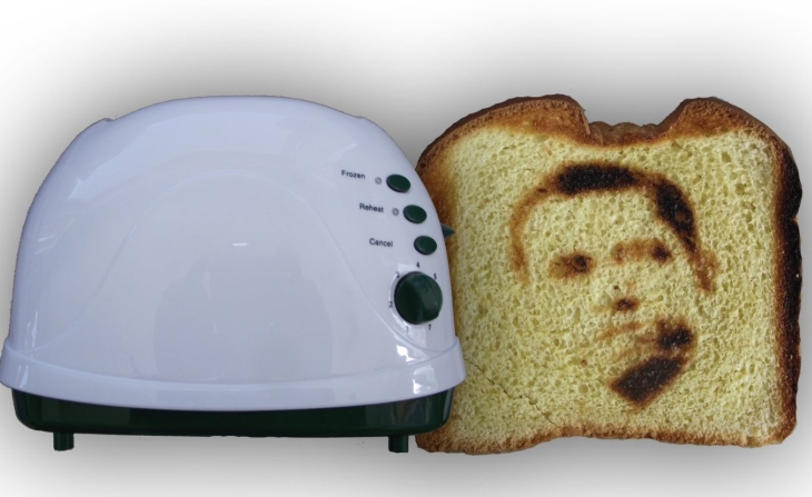Barrack Obama Novelty Toaster