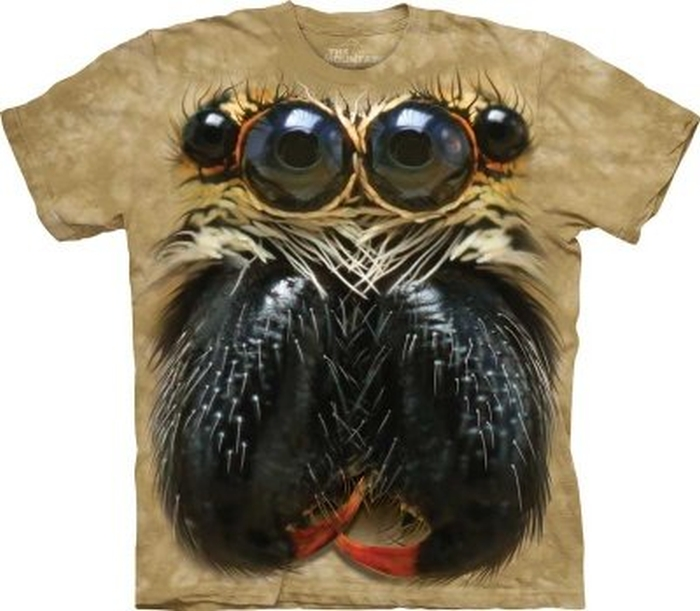 Jumping Spider Face T-shirt