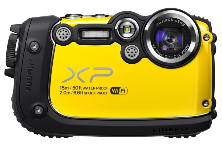 Fujifilm FinePix Yellow 16MP Waterproof Digital Camera