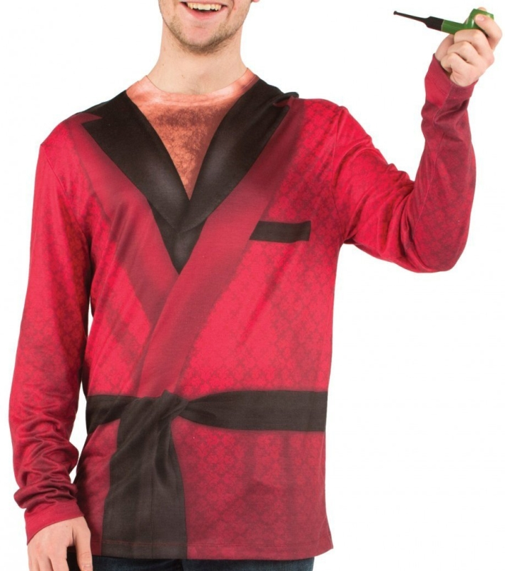 Smoking Jacket Faux Real Costume T-Shirt