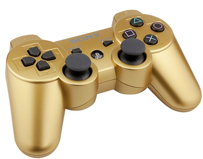 PlayStation 3 DualShock 3 wireless controller – Metallic Gold