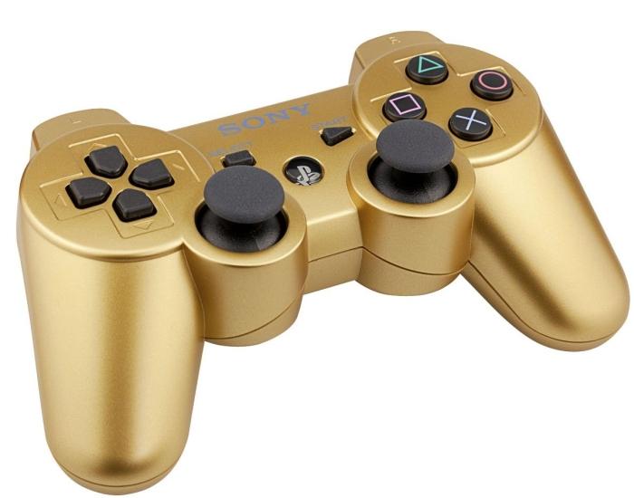 PlayStation 3 DualShock 3 wireless controller – Metallic Gold