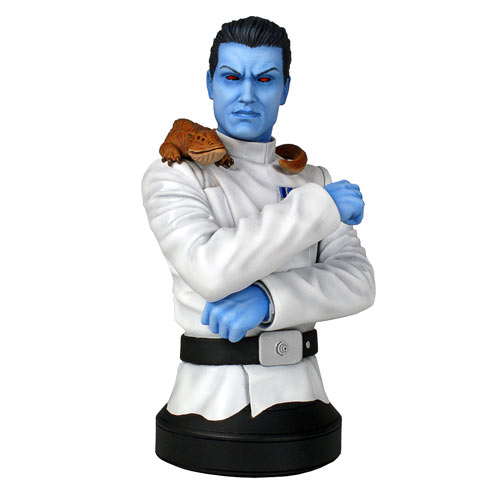Star Wars Grand Admiral Thrawn Mini Bust