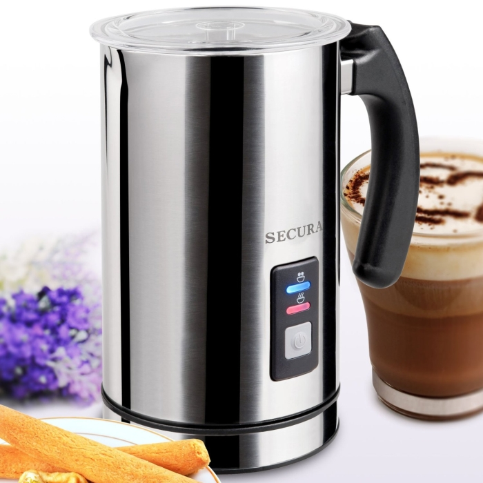 Automatic Electric Milk Frother and Warmer