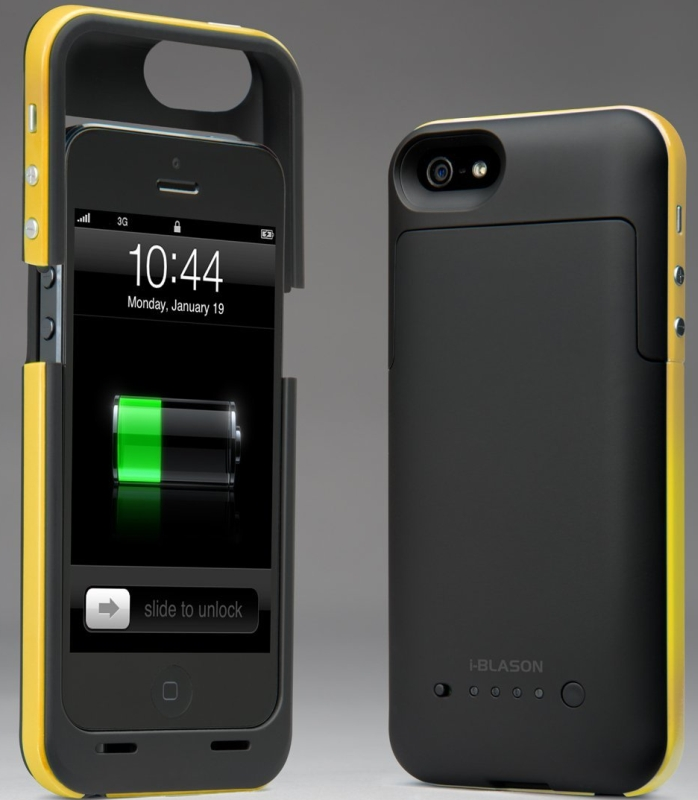 PowerPack iPhone 5 Rechargeable External Battery Glider