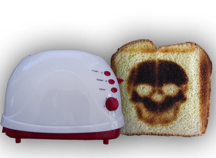 Skull Toaster