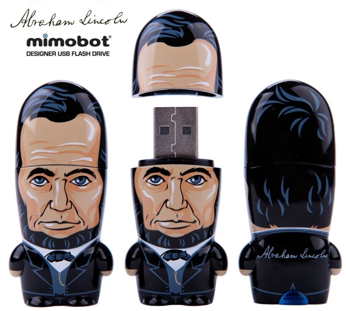 64GB Abe Lincoln MIMOBOT USB Flash Drive