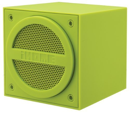 iHome Bluetooth Rechargeable Mini Speaker Cube
