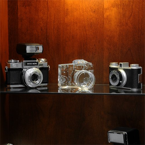 Fotodiox Crystal DSLR Camera Bookends