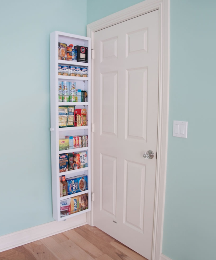 The Back Of The Door Cabinet