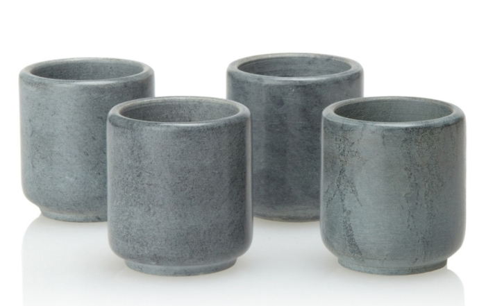 Shotglasses Natural Soapstone