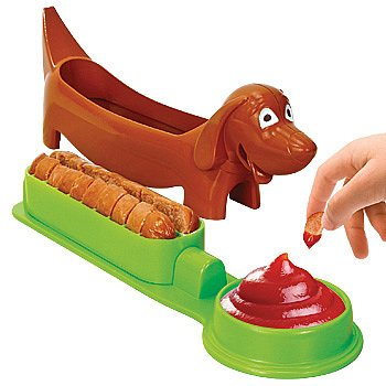 Shaped Hot Dog Cutter