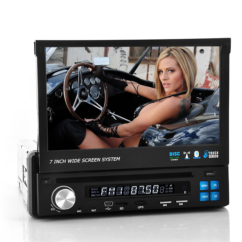 "7 Inch Flip Out Display Car DVD Player ""Road Knight"""