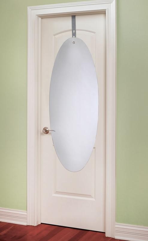 The Shatterproof Over The Door Mirror Gadgets Matrix