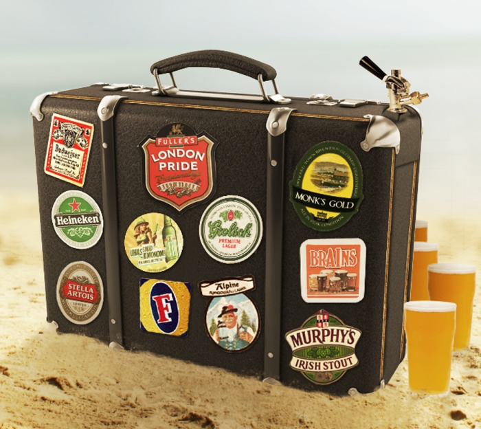 Beer Suitcase