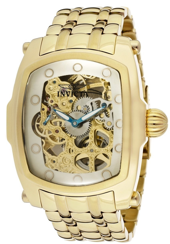Invicta Men's 18k Gold Ion-Plated Watch