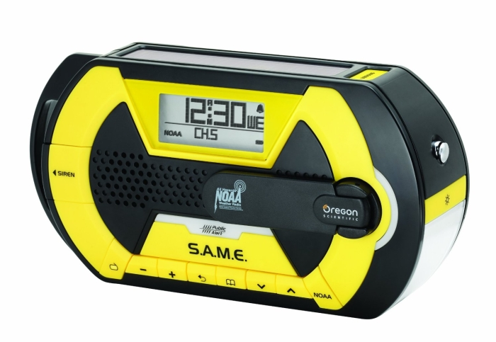 Oregon Scientific Advanced Portable Emergency Alert Radio