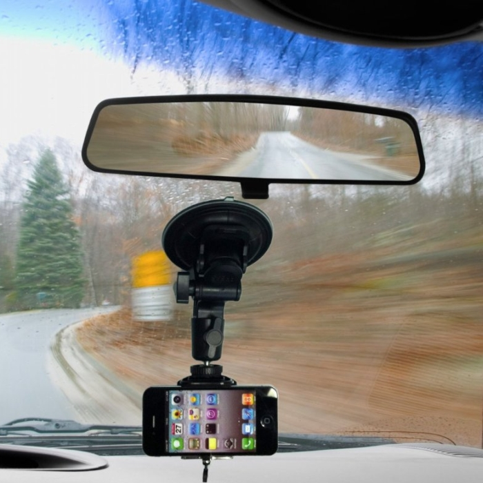 Glass Windshield Mount