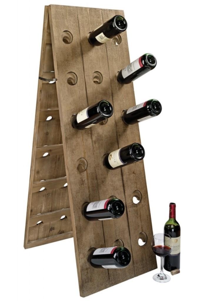 Wooden Wine Holder Gadgets Matrix