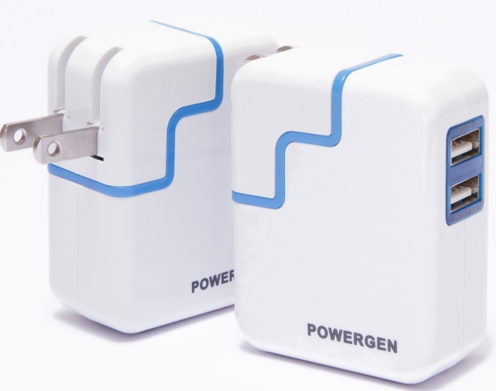 PowerGen Dual USB 3.1A 15w Travel Wall Charger