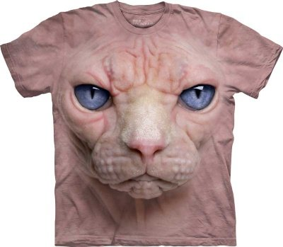 Mens Hairless Pussycat T-Shirt