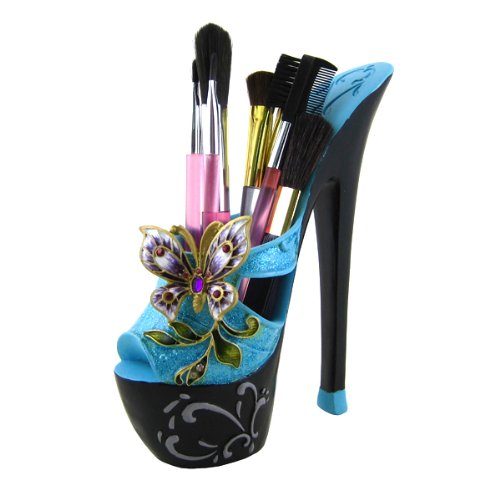 Butterfly Brush Holder