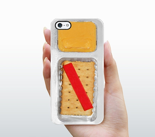 iPhone 5 Case Cheese and Crackers