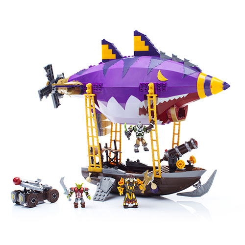 Mega Bloks World of Warcraft Goblin Zeppelin Ambush Vehicle