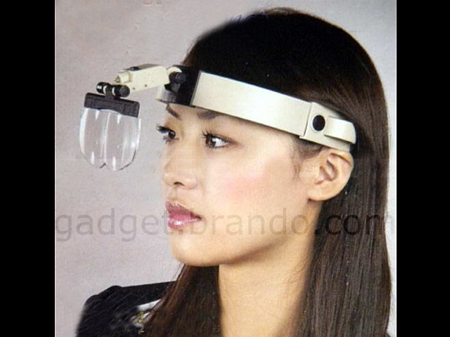 Magnifying Headband Clip Glasses