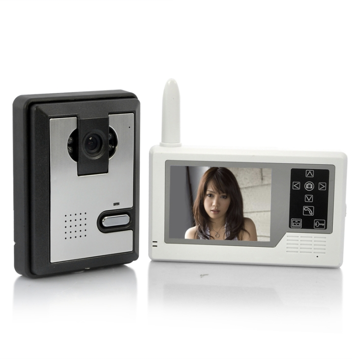 3.5 TFT Wireless Video Intercom Doorbell