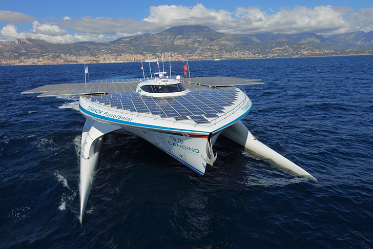 World's Largest Solar-Powered Boat
