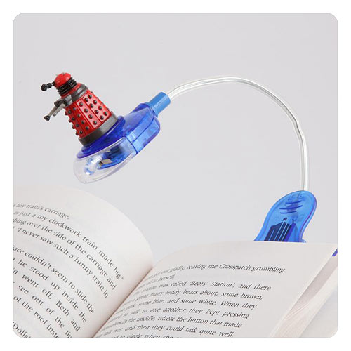 Doctor Who Dalek Head Flashlight Book Light