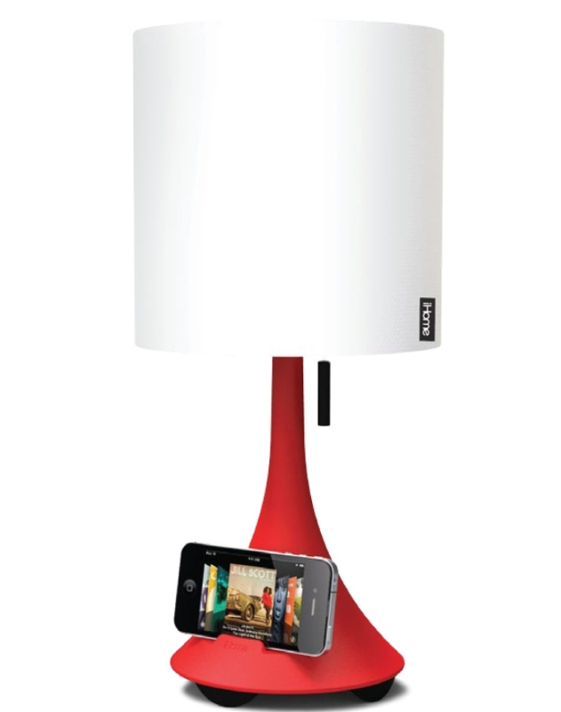 iHome Table Lamp With Speaker