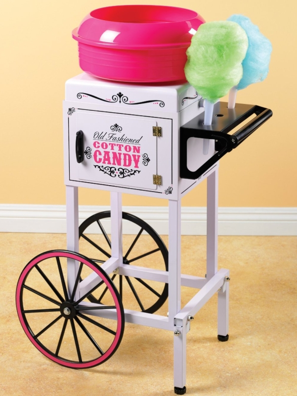 Vintage Collection Hard and Sugar Free Cotton Candy Cart