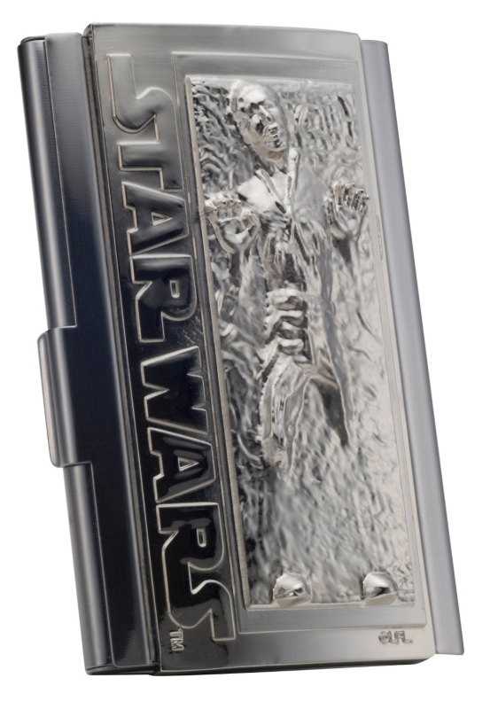 Star Wars Han Solo in Carbonite Business Card Holder