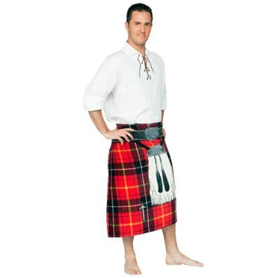 Red Insta Kilt Towel