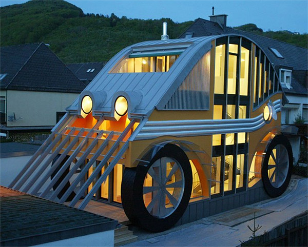 Car-shaped House