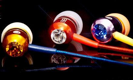 Swarovski Headphones with MIC MP3 Controller